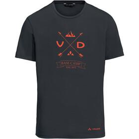 VAUDE Gleann V T-shirt Homme, phantom black